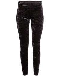 H&M Leggings In Crushed Velvet