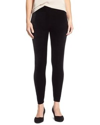 Stretch velvet leggings medium 379115