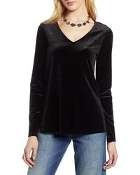 Black Velvet Long Sleeve T-shirt