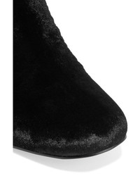 fea5a1f33ef947 ... Sam Edelman Elina Velvet Over The Knee Boots Black ...