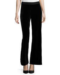 Joan Vass Velvet Wide Leg Pants