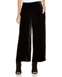 Velvet wide leg pants medium 377284