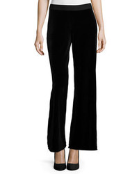 Velvet wide leg pants medium 377304