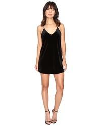 Brigitte Bailey Kameron Spaghetti Strap Velvet Dress