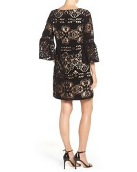 Eliza J Burnout Velvet Shift Dress