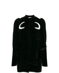 ATTICO Luna Cotton Velvet Mini Dress