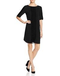 Foxcroft Velvet Burnout Shift Dress