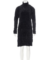 Issey Miyake Velvet Shift Dress