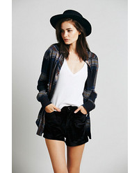 Free People Spell Velvet Vigilante High Rise Short