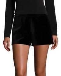 Alice + Olivia Marisa Velvet Shorts