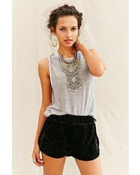 Urban Outfitters Urban Renewal Remade Velvet Short