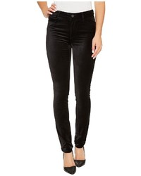Hoxton velvet skinny in black overdye jeans medium 5310250