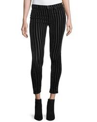 Nico mid rise skinny ankle jeans linear medium 843897
