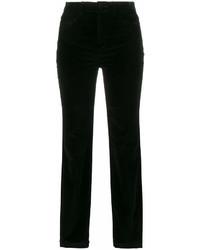 Dolce & Gabbana Mid Rise Skinny Velvet Trousers