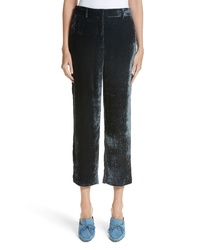 Sies Marjan Willa Silk Cotton Corduroy Ankle Pants