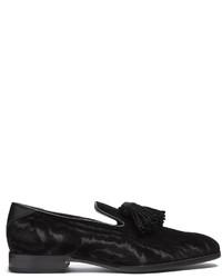 Jimmy Choo Foxley Tassel Embellished Velvet Loafers