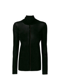 Black Velvet Turtleneck