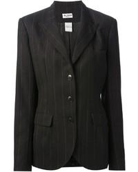 Alaia Alaa Vintage Pinstriped Blazer