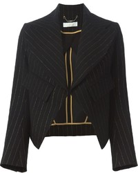 Chloé Striped Cropped Blazer