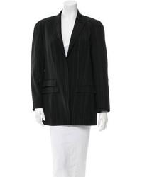 Kenzo Wool Pin Striped Blazer