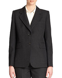 Marc Jacobs Pinstripe Two Button Blazer