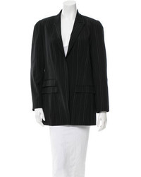 Kenzo Wool Pin Striped Blazer