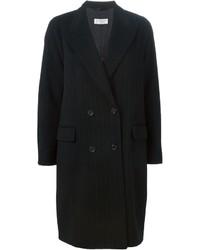 Alberto biani pinstripe oversize coat medium 420438
