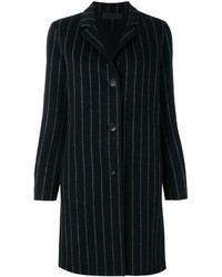 Rag & Bone Pinstripe Buttoned Coat
