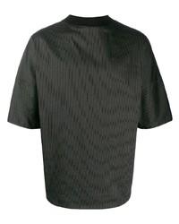 Alchemy Oversized Pinstripe T Shirt