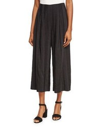 Shadow stripe wide leg pants black medium 3719327