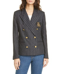 Polo Ralph Lauren Double Breasted Pinstripe Blazer