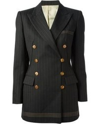 Jean Paul Gaultier Vintage Pinstriped Jacket
