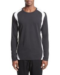 Y-3 Stripe Long Sleeve T Shirt