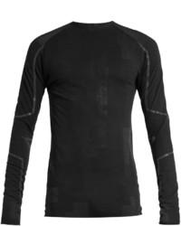 Y-3 Wool Blend Long Sleeved Running T Shirt