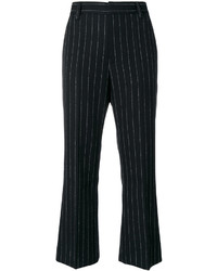 Marc Jacobs Pinstriped Cropped Trousers