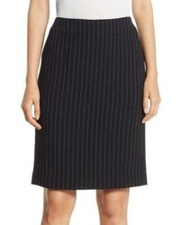 Pinstripe pencil skirt medium 4414917