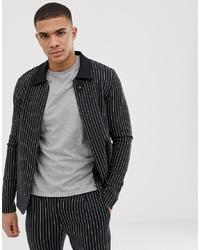 Jack & Jones Premium Pinstripe Worker Jacket