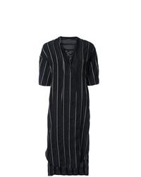 Striped short sleeved dress medium 7605281