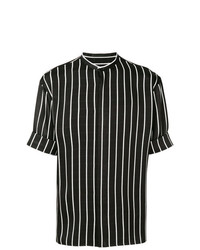 Haider Ackermann Striped Short Sleeve Shirt