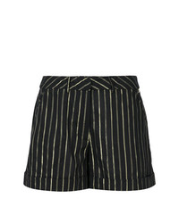 Twin-Set Striped Short Shorts