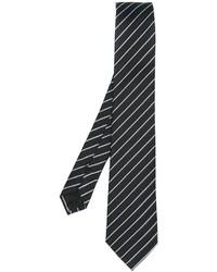Armani Collezioni Double Pinstriped Neck Tie