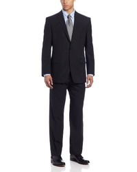 Calvin Klein Mini Black Pinstripe Slim Fit Suit