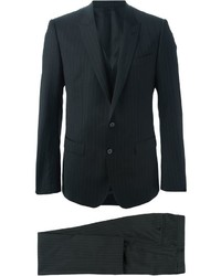 Dolce & Gabbana Pinstripe Three Piece Suit