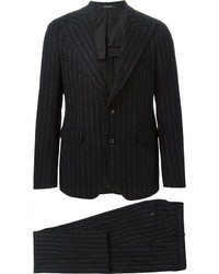 Tagliatore Two Piece Pinstripe Suit