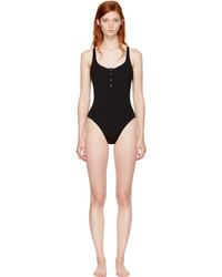 Solid And Striped Black Staud Edition The Veronica Swimsuit