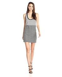 Rebecca minkoff brady striped jersey tank dress medium 847149