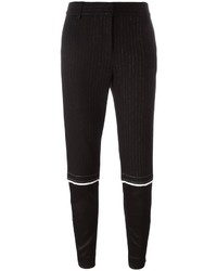 DKNY Tapered Pinstripe Trousers