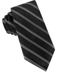 DKNY Core Stripe Silk Tie
