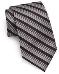 English Laundry Striped Silk Tie