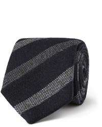 Gieves Hawkes Striped Wool Tie